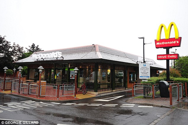 McDonalds in Uxbridge is one of many McDonalds identified by the Mail last summer as installing signs and cameras in  car parks warning customers they can stay a maximum of 90mins or face a £100 fine