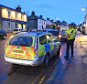 (TODAY)Copyright Pic: Mike Day/Saltire News and Sport Ltd PoliceSgtDoubleYellows_0005.JPGA POLICE SERGEANT CHECKS OUT AT A SUPERMARKET DOLLAR, CLACKMANNANSHIRE HAVING PARKED POLICE CAR ON DOUBLE YELLOW LINES OUTSIDE ON FRIDAY 20 FEBRUARY 2015Tel: Mobile: 07703 172 263E-mail: george@saltirenews.com